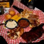 Famous Dave's Barbeque in Lahaina features the Feast for Two.