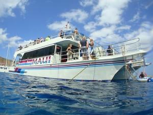 The Pride of Maui Catamaran