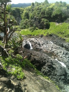 Seven Pools with Valley Isle Excursions