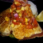 Captain Jack's Fish of the Day with Pineapple Salsa