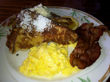 French Toast at Captain Jack's Island Grill