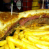 Cool Cat Cafe Burger of the Month March 2013: Reuben Melt