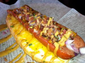 silly snake dogs breakfast hot dogs recipe on food52 breakfast hot dog ...