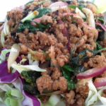 Crying Thaiger Maui: Spicy Minced Chicken Salad