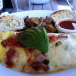 Koa's Seaside Grill: Spanish Omelette