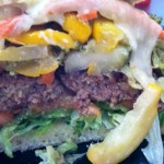 "Cool Cat Cafe Beef Burger of the Month June 2013: ""Don't Be a Pesto"""