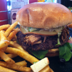 Cool Cat Cafe: Burger of the Month December 2013