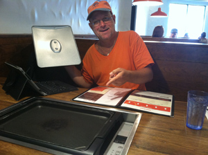 Slappy Cakes: Gary at the Grill