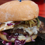 "Cool Cat Cafe Beef Burger of the Month September 2014: ""The Seoul Train"""