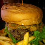 "Cool Cat Cafe Beef Burger of the Month October 2014: ""Octoburgerfest"""