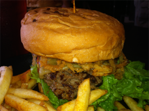 """Cool Cat Cafe Beef Burger of the Month October 2014: """"Octoburgerfest"""""""